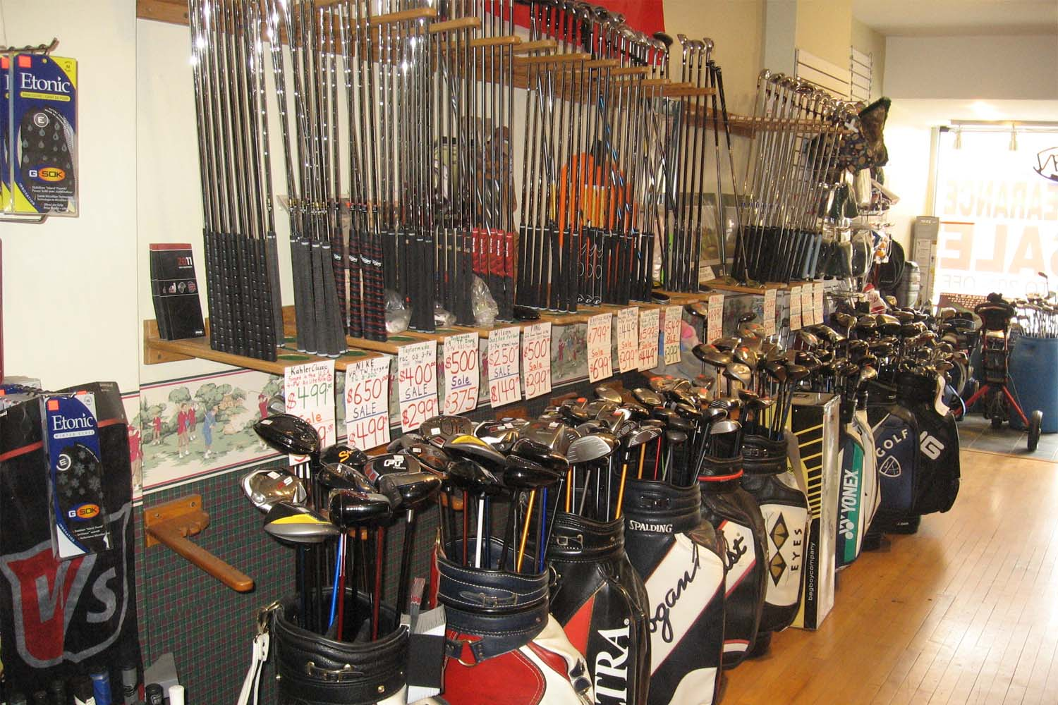 golf clubs for sale toronto