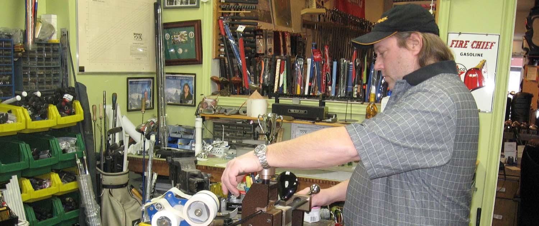 golfsmith toronto golf repair shop