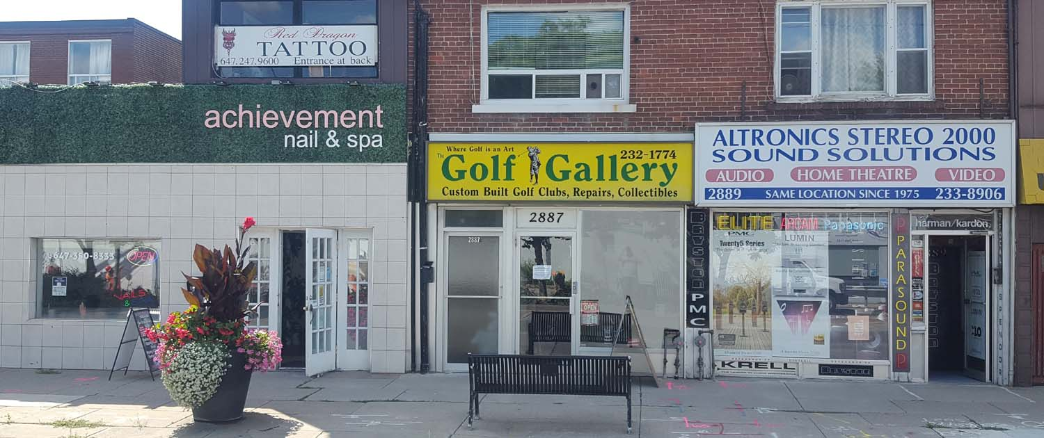 golf gallery golf clubs & repairs